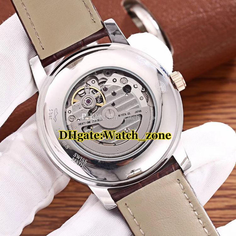 New Master 1548530 White Dial Japan Miyota 821A Automatic Mens Watch Silver Case Sapphire Glass High Quality Q1548530 Watches