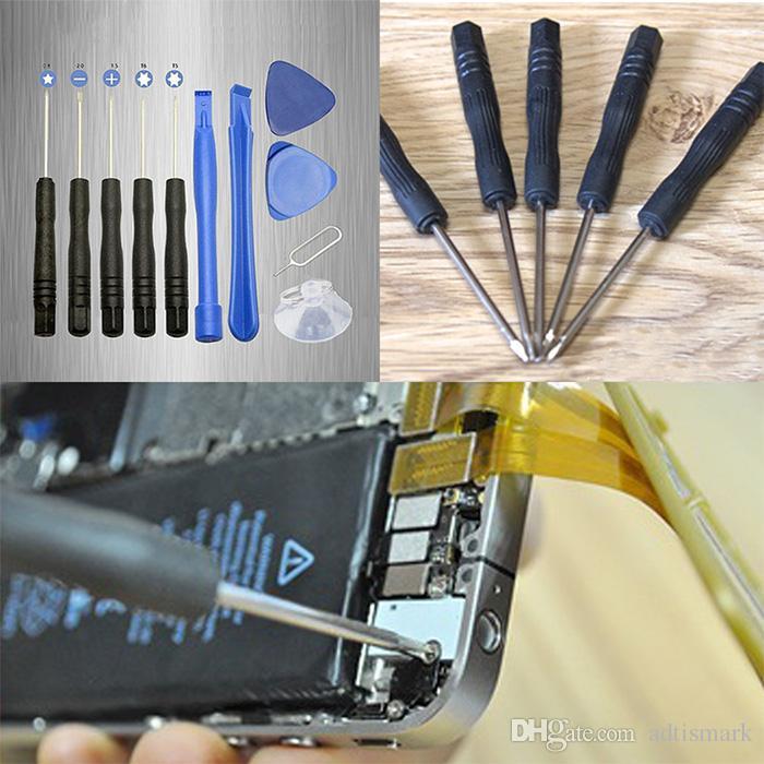 11 unids kit de herramientas de reparación de palanca de apertura del teléfono celular Mini juego de destornilladores de precisión para pantalla de teléfono móvil Herramientas de apertura de palanca