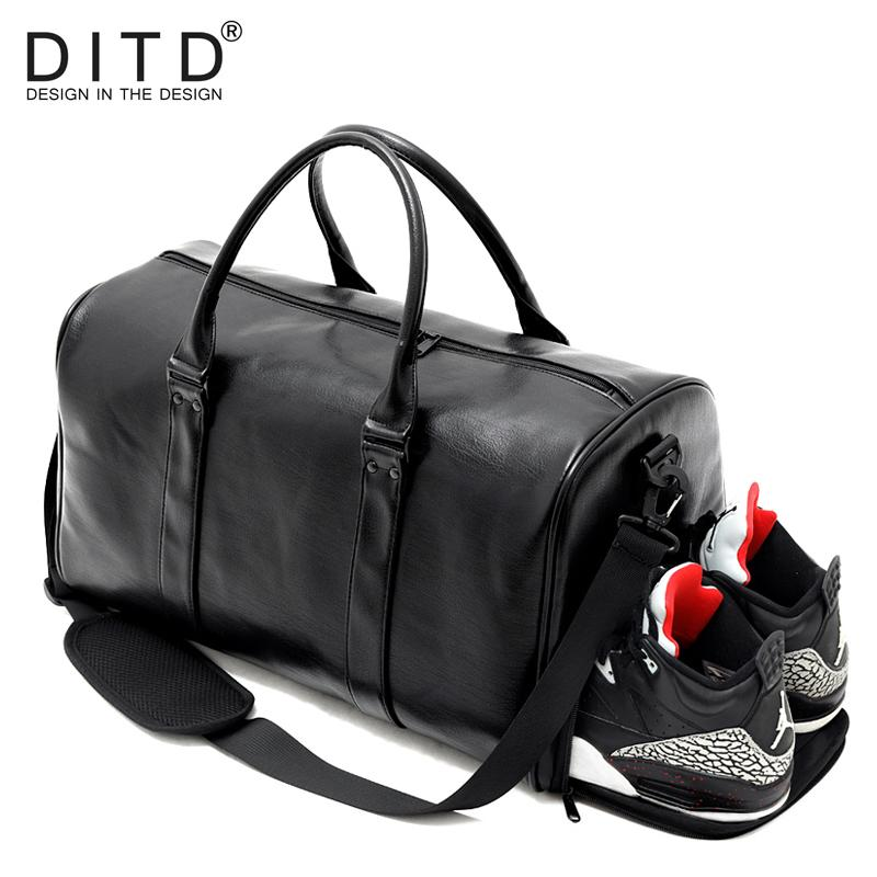 43bb96015c49 Wholesale Quality Personality Large Capacity PU Leather Mens Travel Bag  Fashion Travel Handbag For Man Famous Brand Duffel Bag Waterproof Spotty  Suitcase ...