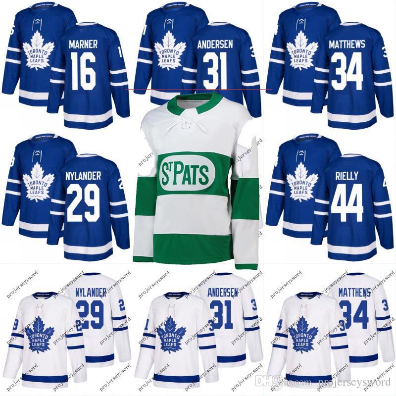 bd8f97eab15  91 John Tavares Jersey Toronto Maple Leafs 8 Jake Muzzin 19 Nic Petan 31  Frederik Andersen 43 Nazem Kadri 44 Morgan Rielly Hockey Jerseys UK 2019  From ...
