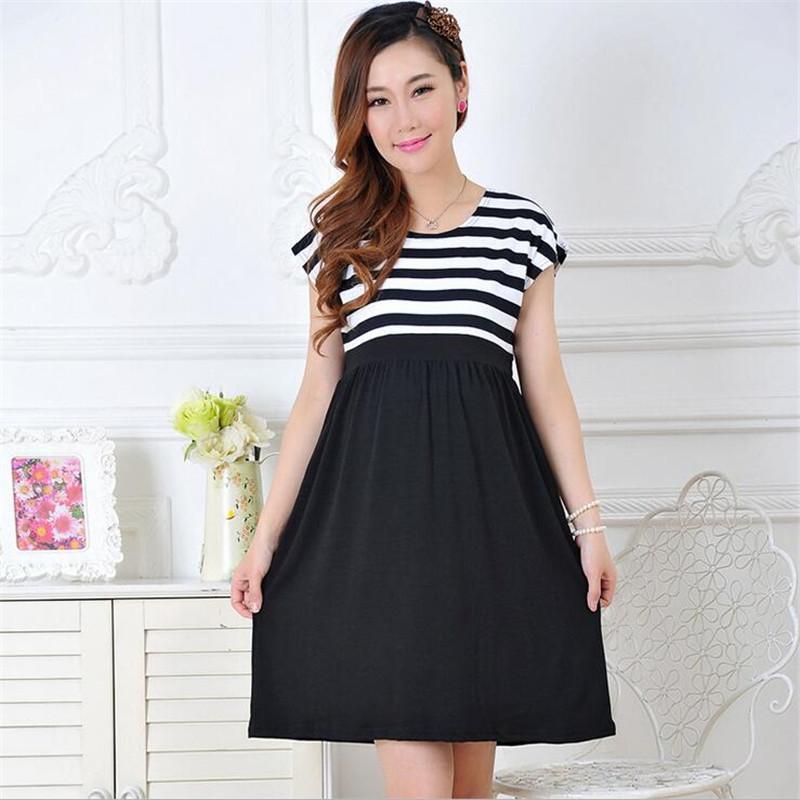 d3ebeefbe77 New Women Long Dresses Maternity Nursing Dress for Pregnant Women ...