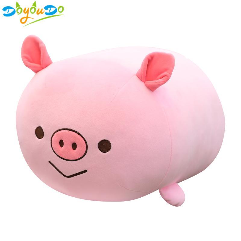 2019 35 65cm Cartoon Pig Corgi Chicken Plush Toy Soft Stuffed Animal