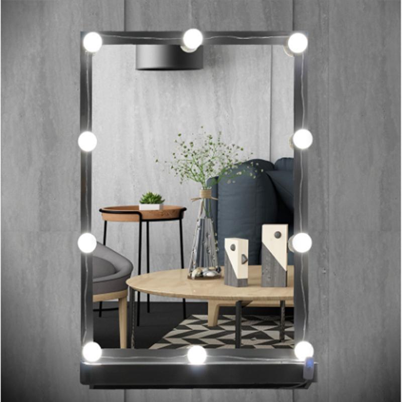 2019 Leedome 10 Led Bulb Vanity Makeup Mirror Night Light Led Mirror