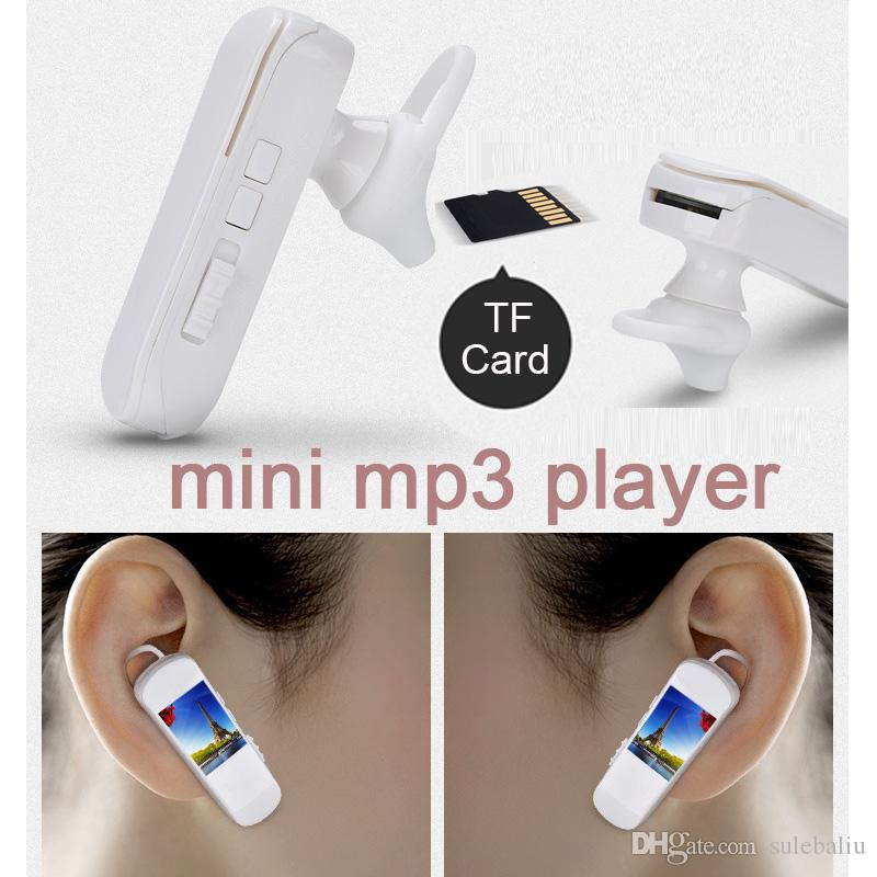 Customized Mini Sport USB Clip Ear Hanging MP3 Player Support 8GB Micro SD TF Card Kids Outdoor MP3 Music Player