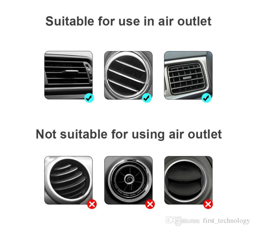 Universal Magnetic Mount Car Kit Fixo suporte Suporte para Iphone 11 Pro Max xr xs Samsung Com Retail Box