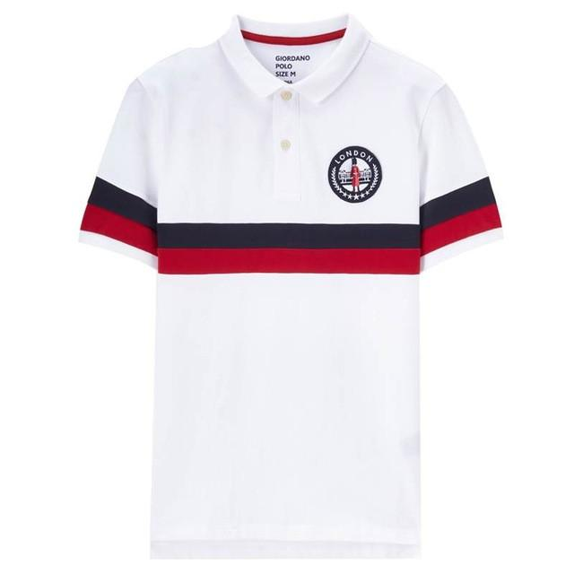 1404b394 2019 Men Polo Shirt Men Union Jack Embroidery Polo Color Blocking Camisa  Polo Slim Pattern Short Sleeves Homme From Xinlangcom, $51.12 | DHgate.Com