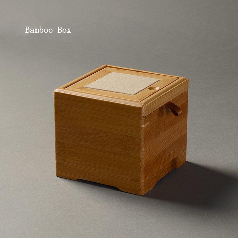 Aufbewahrungsbox Bambus Gross