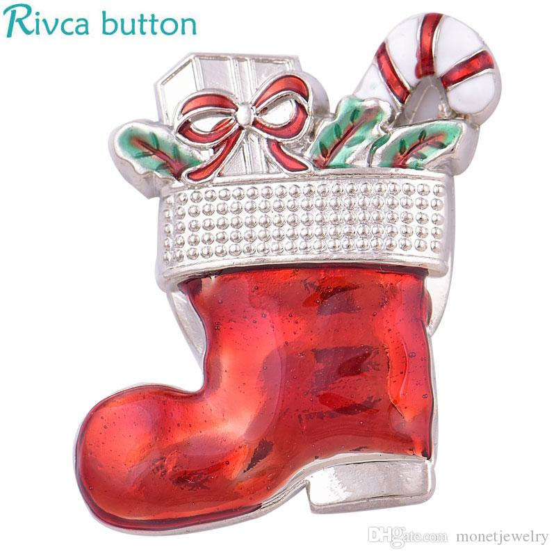 2018 D04058 Rivca inserts convertible magnet brooch antique Christmas man Headscarf Scarf Clip Vintage Muslim Brooch magnetic pin brooch