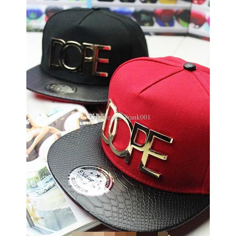 Satın Al Yeni Beyzbol Şapkası Hip Hop Düz Şapkalar Erkekler Kadınlar Punk  Şapkalar Dans Güneşlik Snapback Açık Topee Metal Mektup Dekorasyon ... 19cda1a4c8f