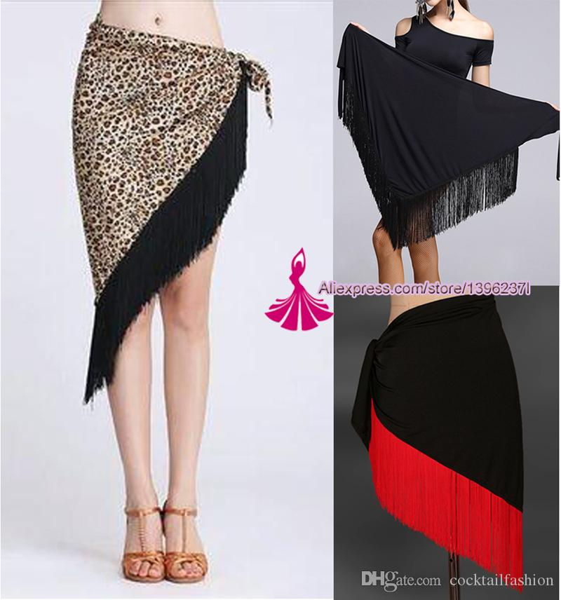 45f016f85 2019 Latin Dance Skirt For Women Professional Sumba Tassel Dancing Skirt  Adult Cheap Rumba Latin Dance Dress From Cocktailfashion, $10.06 |  DHgate.Com