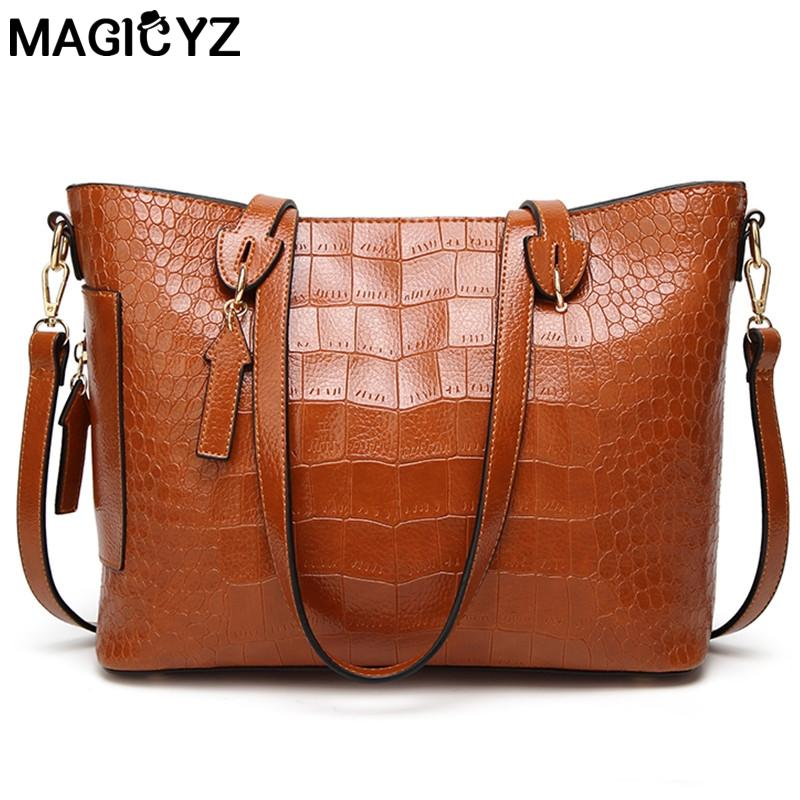 Wholesale Women Famous Brand Designer Luxury Leather Handbags Women  Messenger Bag Ladies Shoulder Bags Crossbody Crocodile Bag Women Handbags  Weekend Bags ... 6a3d70b20e