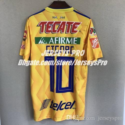 Andre Gignac Tigres UANL 2018 2019 Local Yellow Jersey Mexico Tigers  Camisetas De Fútbol Soccer Camiseta De Futbol Con Liga MX Patch Por  Jerseyspro 7c1764960