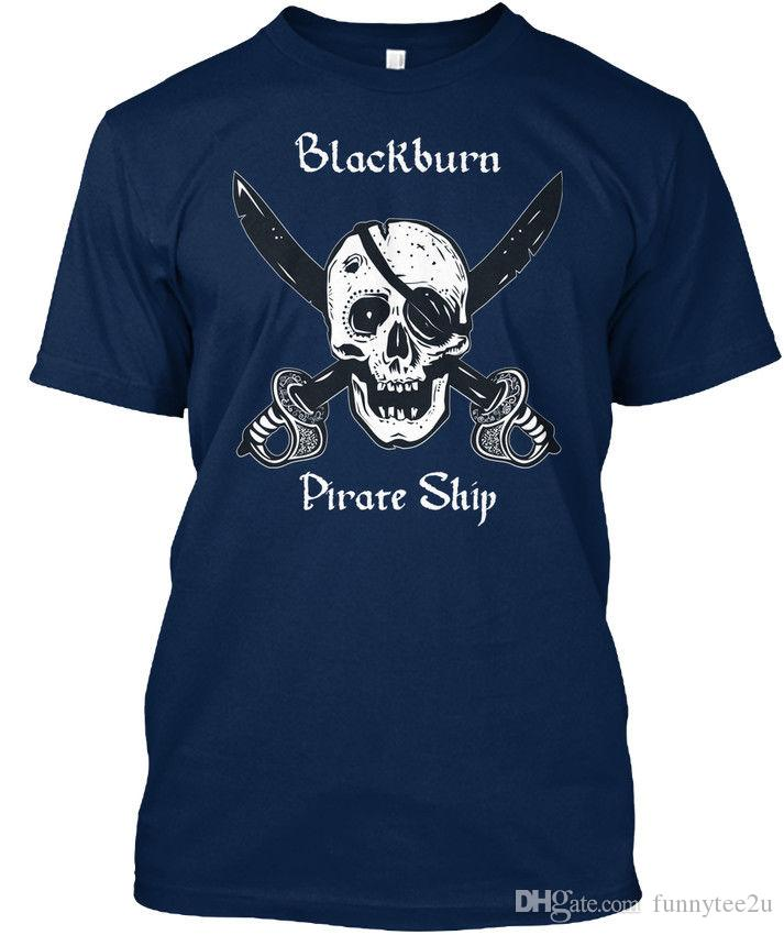 Blackburns Pirate Ship T-shirt Élégant Tees Shirt Men Male Brand Clothing Custom Short Sleeve Plus Size Group Tshirt