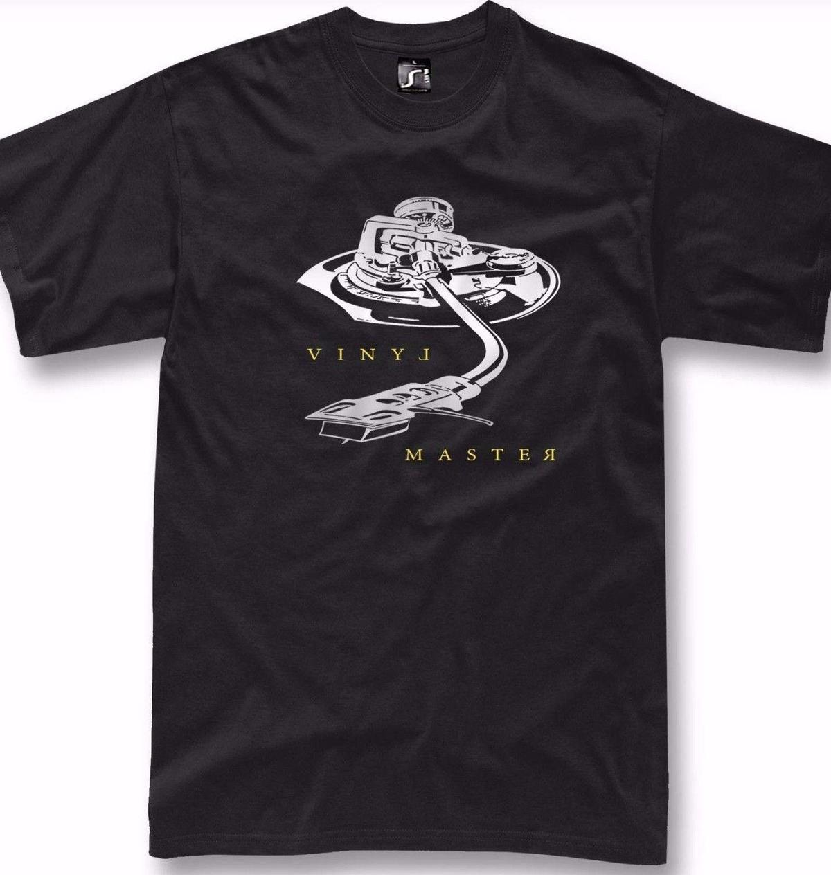 574ebb6d2a Compre DJ Camiseta Retro Vinyl Master Technics Hip Hop Rap Deejay Regalo  Camiseta Tonearm A  12.08 Del Amesion48
