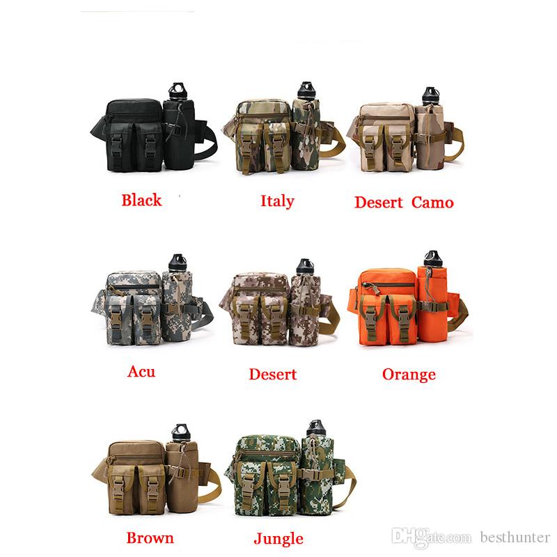 Multifunction Quality Outdoor With Water Bottle Holder Belt Bag waist bag ZSBB-6