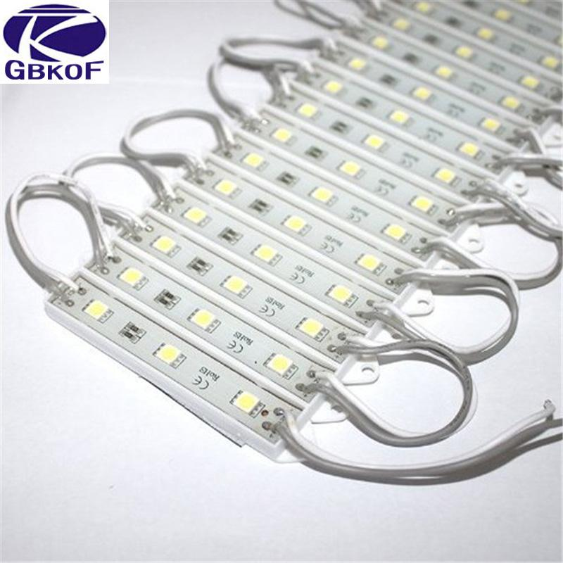 LED Module 5050 3 LED DC12V Waterproof Advertisement Design LED Modules Super Bright Lighting