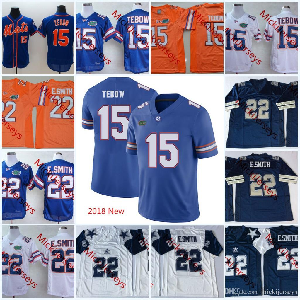 e40c385f47cb 2019 Mens 2018 New NCAA Florida Gators Tim Tebow College Football Jerseys  Stitched  22 Emmitt Smith Florida Gators Jersey S 3XL From Mickijerseys