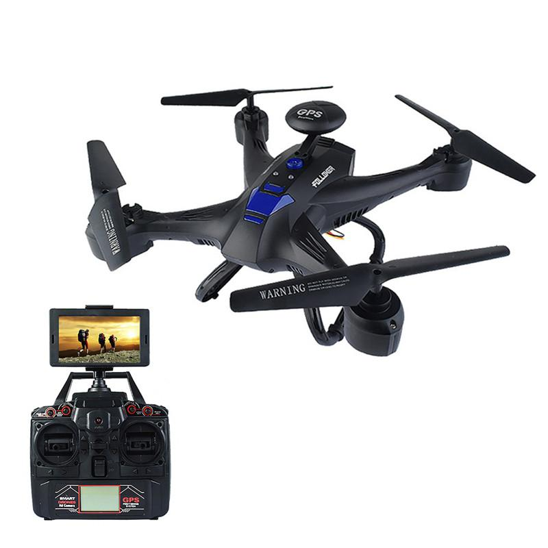 5.8G Wifi FPV Quadcopter X191 2.4G 4CH 2.0MP HD Camera Drones GPS RTH Height Hold RC Helicopter Selfie Drone Outdoor Toy for boy