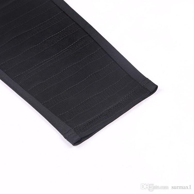 Hot sale ladies pants size S-L black long section slim mesh stitching hip thin leggings sports yoga pants