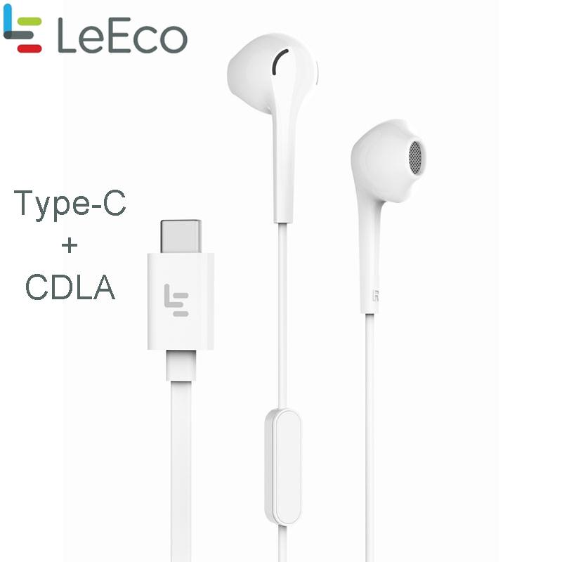 e5b87ada328 Original TYPE C HIFI CDLA EARPHONE WITH Mic Usb 3.1 Earbuds For LETV 1/1S/2/2  PRO/MAX 2/3/3S/PRO 3 Xiaomi Mi 6 Wholesale Earbuds Cell Phone Bluetooth ...