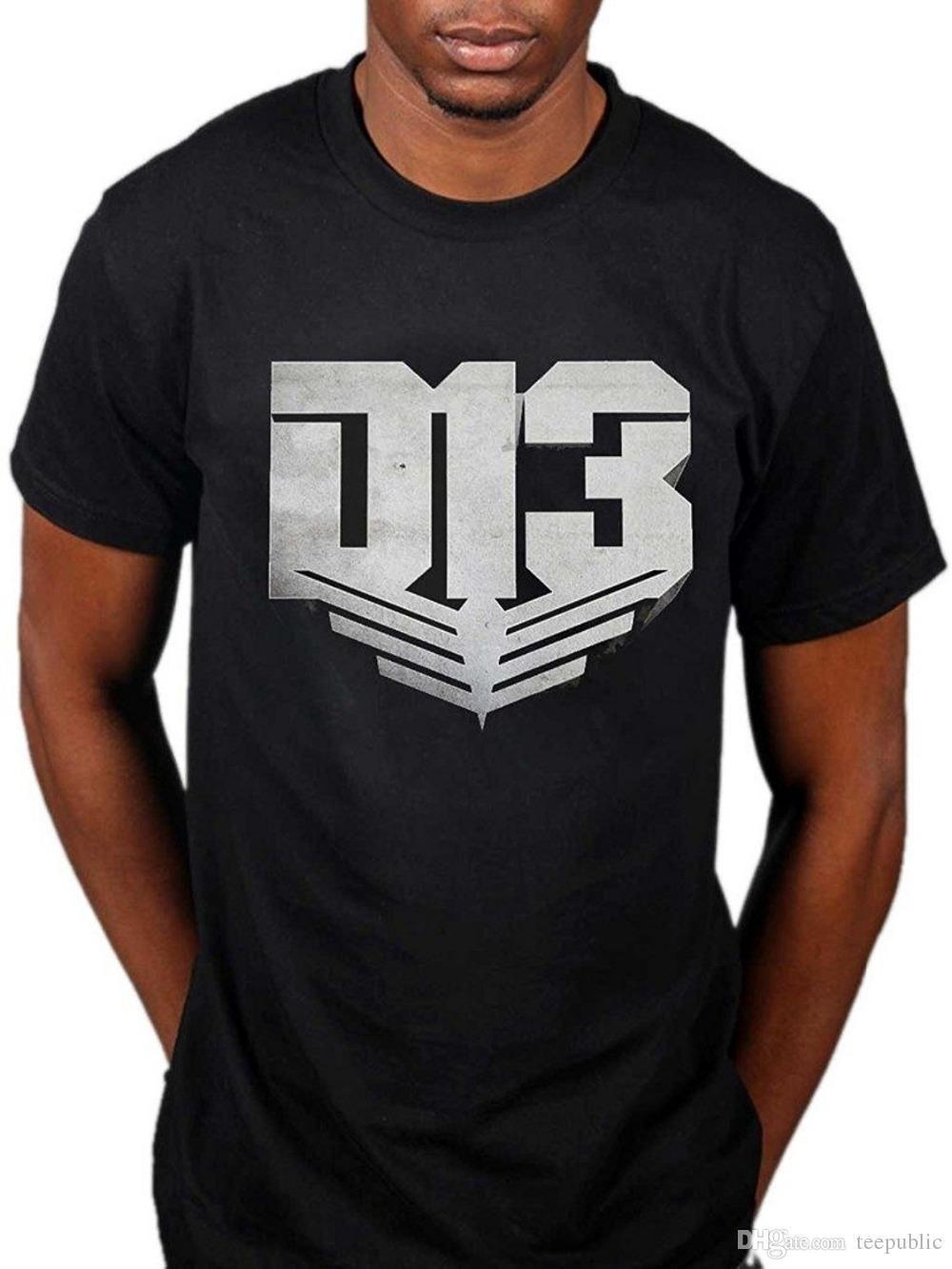 Cool T Shirts Designs Mens Hunger Games District 13 T Shirt