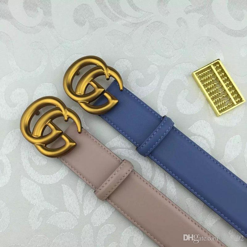 Compre 2018gucci Hot Circle Pin Hebillas Cinturón Deducción Femenina ... d134ef68b718