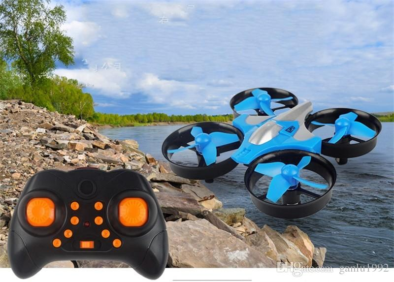 Mini UFO Quadcopter Drone Four Axis Headless Mode Children Remote Control Toys Nano RC Helicopter Mode Gift Toy 55bn W