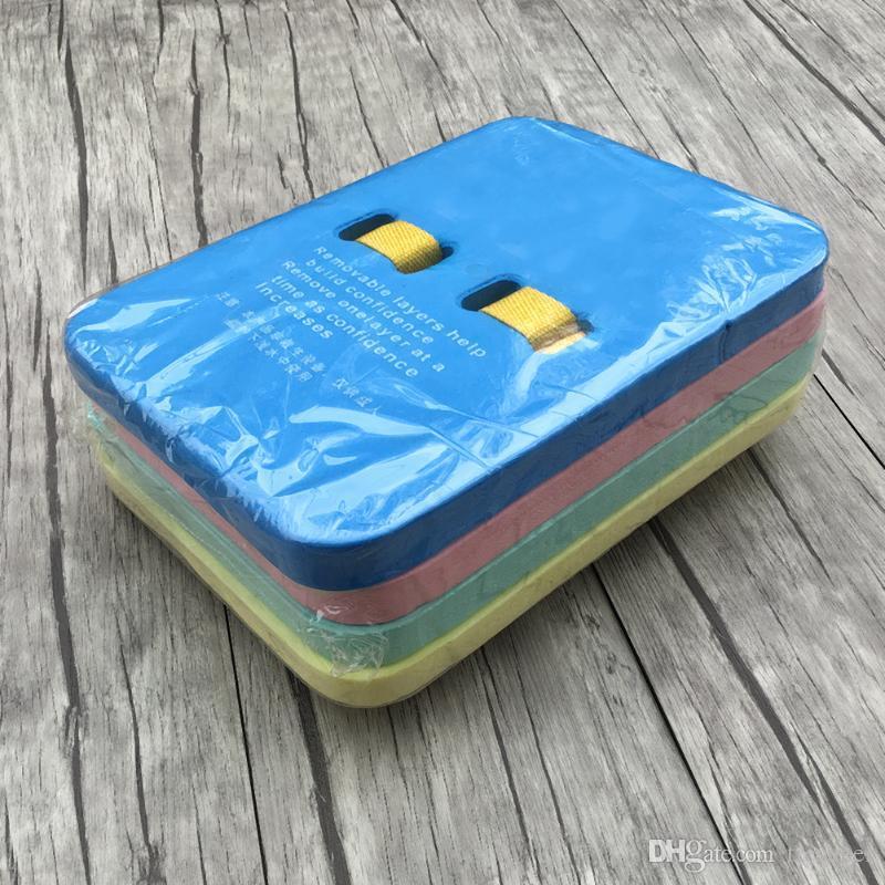 Kids Back Float Swimming Aid Training Float Split Adjustable Kickboard Back Drift Safety Belt Board Playing Water Board Floats