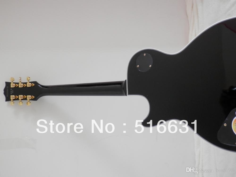 Ücretsiz kargo yeni stil siyah renk lp ÖZEL Elektro Gitar 3 pikap ile