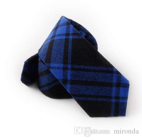 54056fcc5dd8 Mantieqingway Business Cotton Neck Tie 6.5cm Ties Men Suits Upscale ...