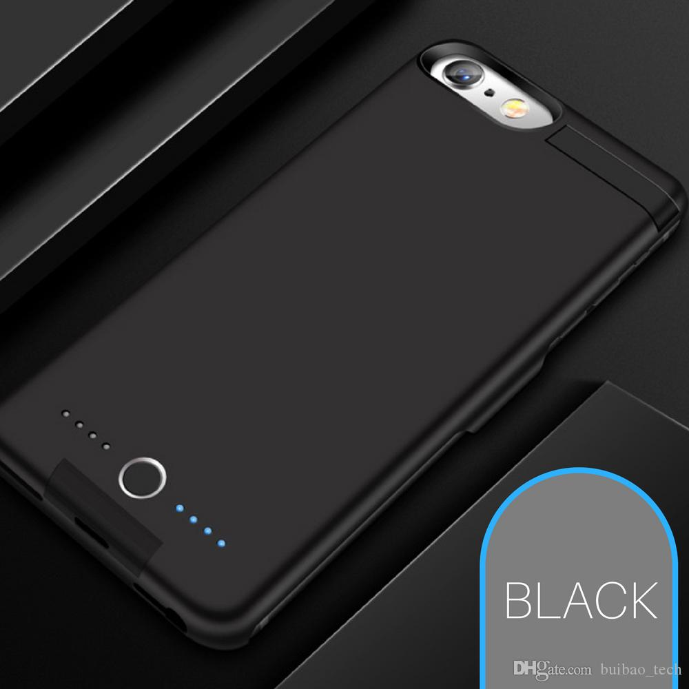 8000mAh Bateria Banco De Potência De Carregamento Caso Capa Do Carregador backclip Estendido Para iPhone 6/6 S / 7/8 Mais