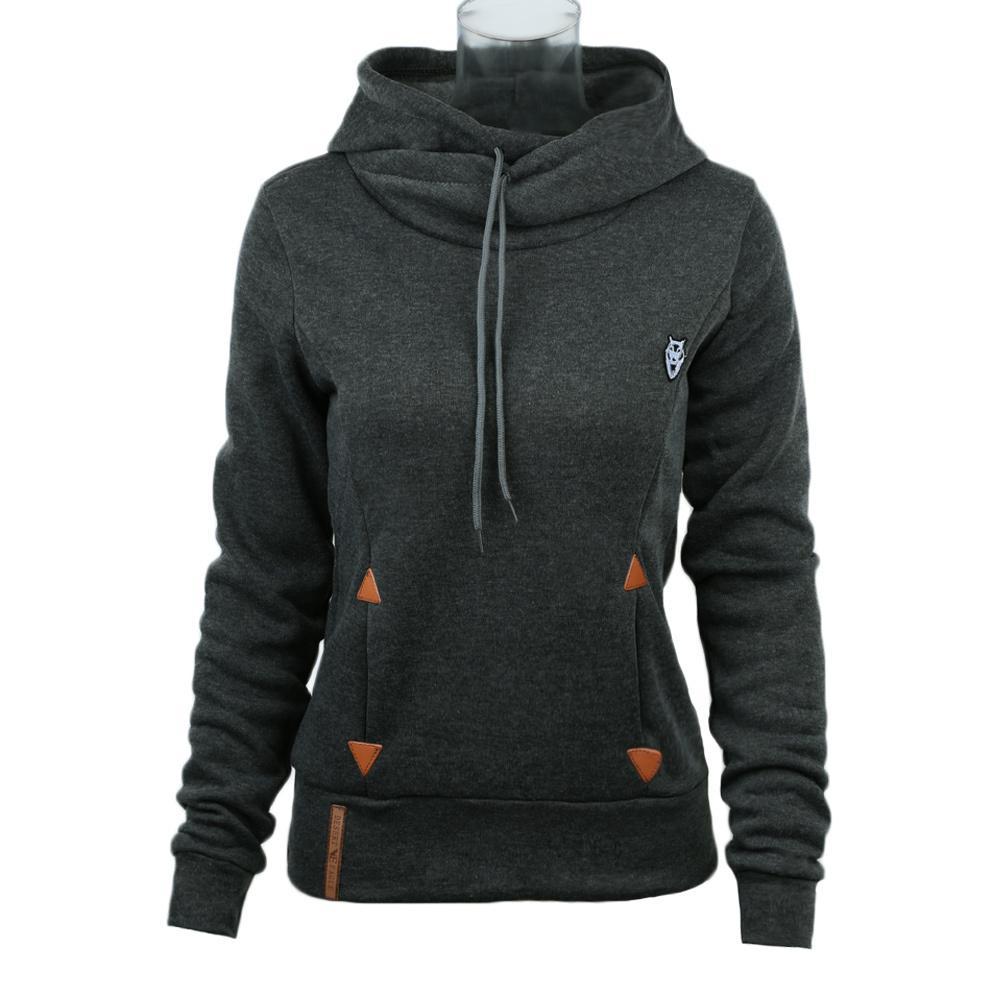 Zwei Stück Set Herbst Frauen Lässige Langes Hülse Hoodie Lose Sweatshirt Patchwork Lange Hosen Schweiß Anzüge