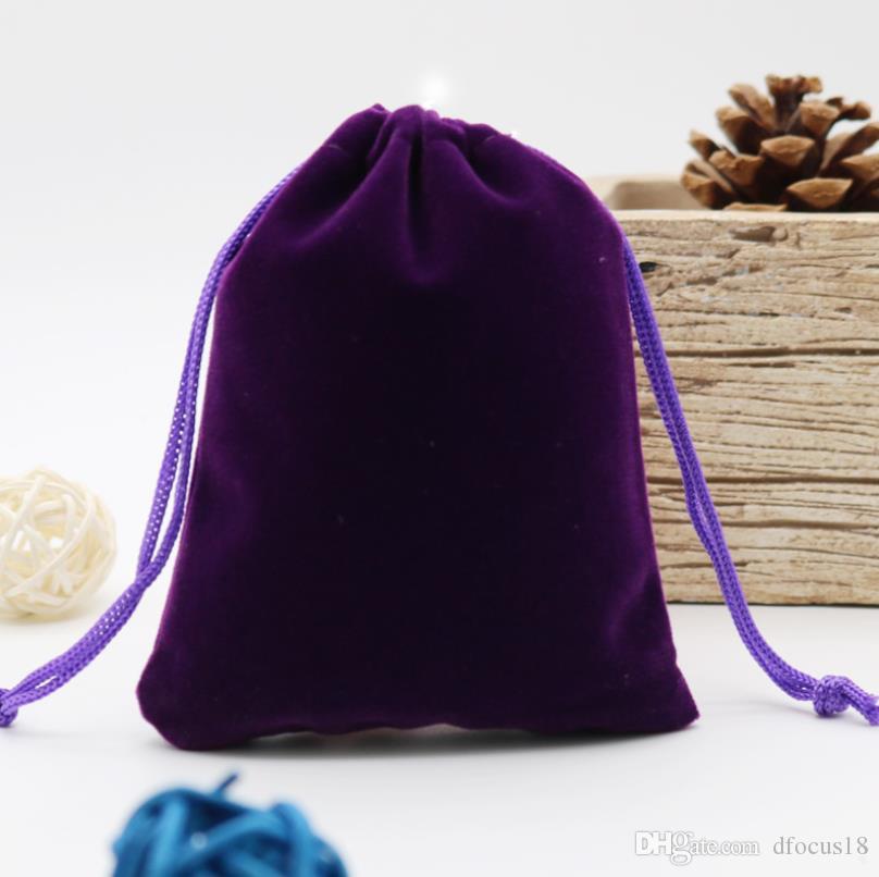 Süßigkeiten Los Weihnachten Hochzeitsgeschenk Samt Beutel Teile 50 Farbe Verpackung Kostenloser Schmuck Versand Taschen Lila wOuPkXZiT