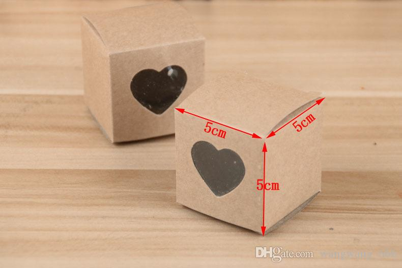 kraft Paper Gift Boxes Brown Handmade Soap Packaging Boxes Party Storage box For Jewerly/Candy/Handicraft