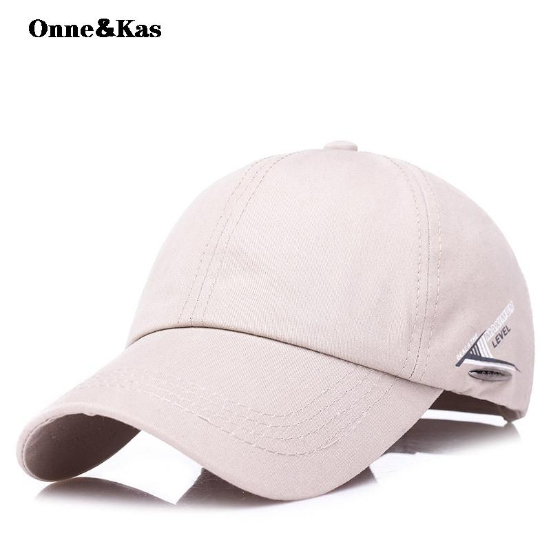 Onne Kas Brand New Cotton Mens Hat Youth Letter Print Unisex Women Men Hats  Baseball Cap Snapback Casual Caps Starter Cap Big Hats From Heathere 65984e1915af