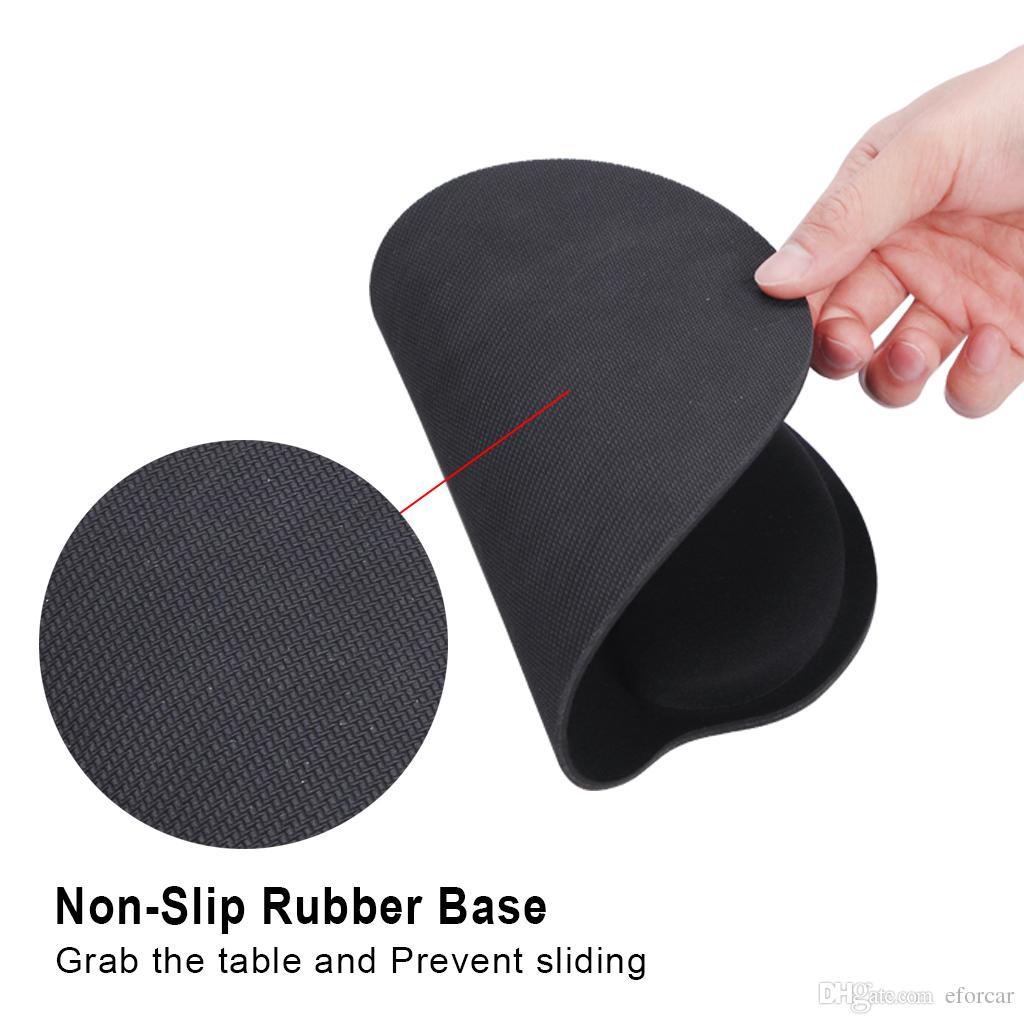 마우스 패드 손목 받침대 메모리 폼 포함 미끄럼 방지 PU 밑면 통증 완화 소셜 워커 게이머 학생용 지원