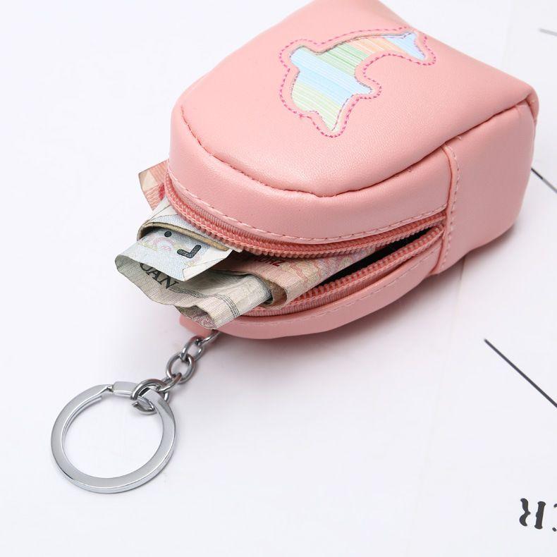 67e2f2f3563d Mini Coin Purse Women Wallets Lady Purse Zipper Money Bags Cards ID Bag  Pendant Woman Mini Cartoon Wallet Keychain Pocket Pouch Bags For Women Hobo  ...