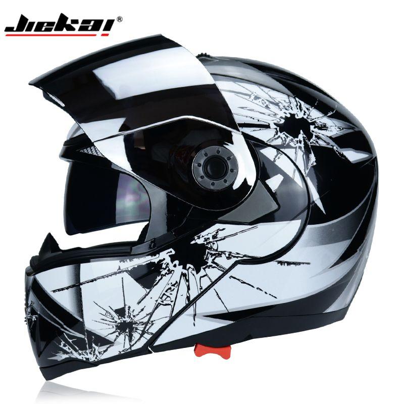 f338b947 JIEKAI New Arrival Safety Flip Full Face Motorcycle Helmet With Internal  Sun Visor Everyone Afable Dual Lens MOTO Helmet Bikers Helmets Bluetooth  Motorcycle ...