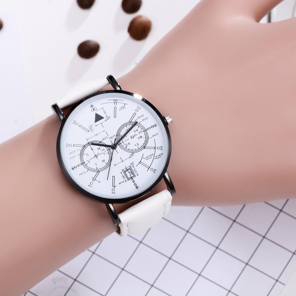 d0b503752a12 Luxury Women Watches Fashion Hours Wristwatch Female Simple Casual Hand  Clock Leather Belt Round Quartz Watches Free Shiping Women's Watches Cheap  Women's ...