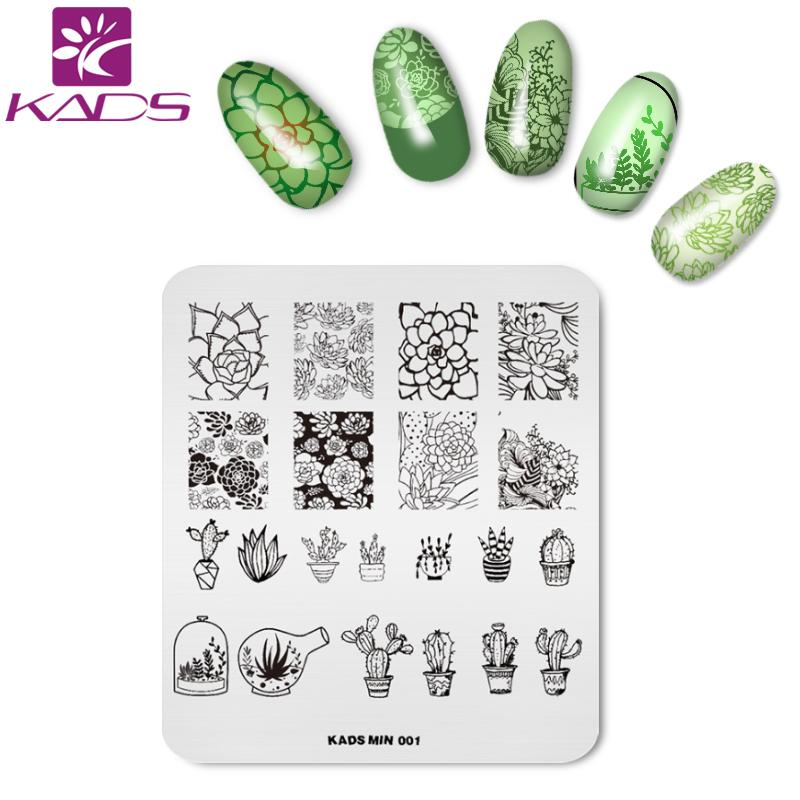 Kads New Arrival Min Series Stainless Steel Nail Art Stamping Stamp ...