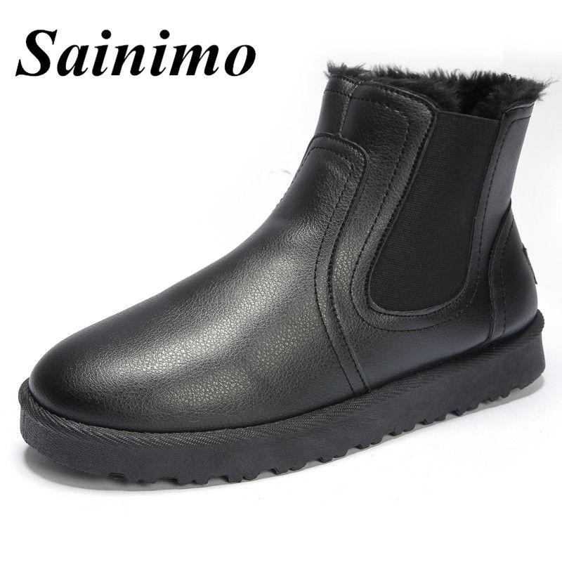 Compre Zapatos Invierno De 2018 Hombre Botas Nueva Moda qWxFpZnq7