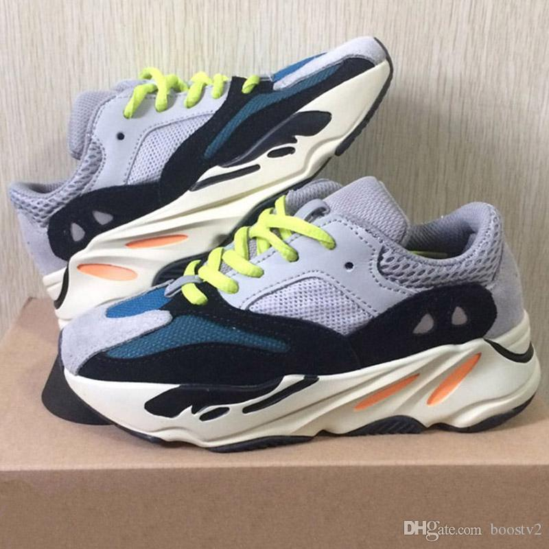 dd83c1695 Kids Shoes Wave Runner 700 Kanye West Running Shoes Boy Girl Trainer Sports  Sneakers Children Athletic Shoes Cheap Girls Running Shoes Best Tennis Shoes  For ...