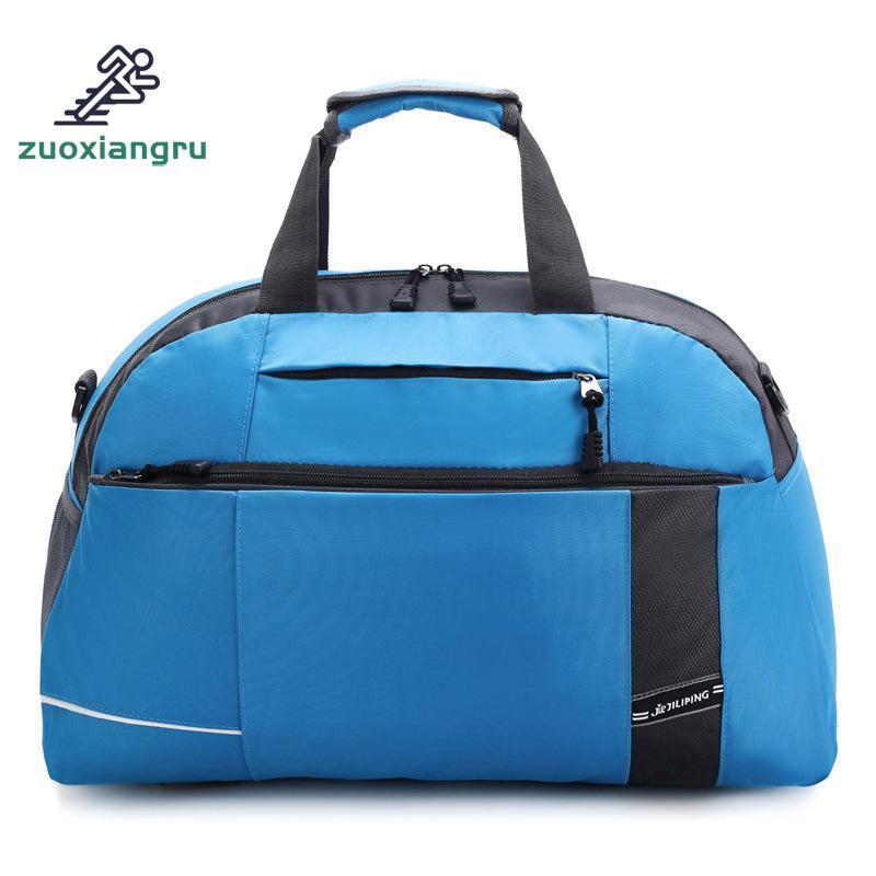 ce9cc658ef91 New Gym Bag Women Yoga Bag Men Fitness Waterproof Nylon Sport Travel ...