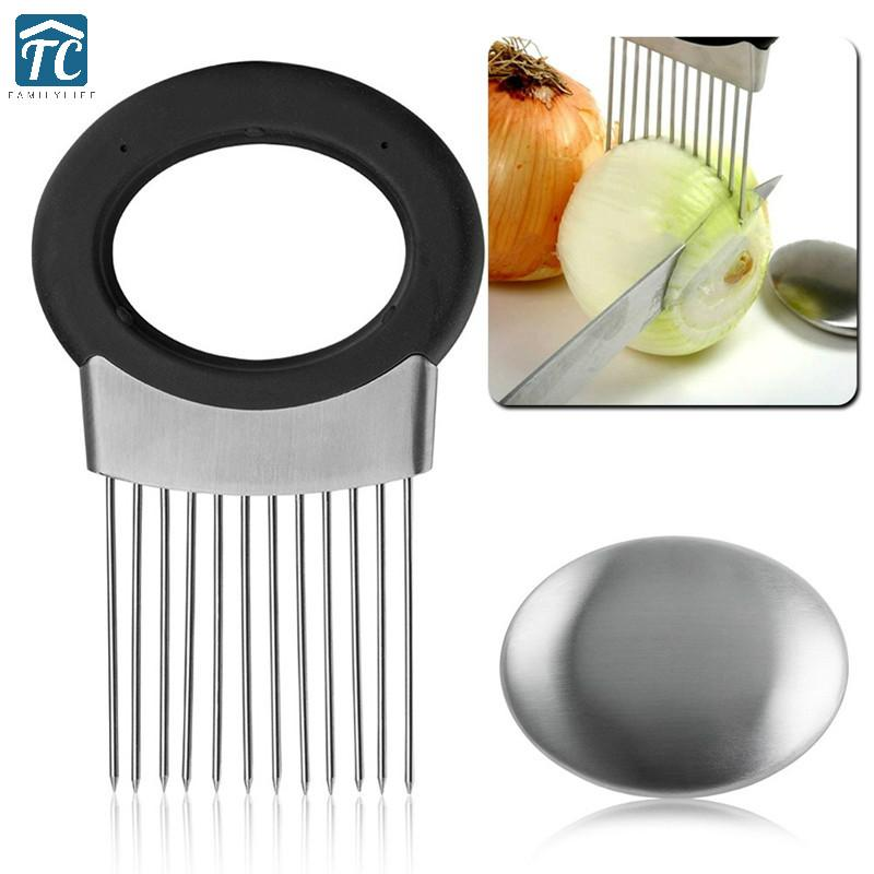 Stainless Steel Kitchen Gadget Cooking Tool Vegetable Onion Cutter Slicer  Peeler Chopper Shredder Eco-friendly Accessories