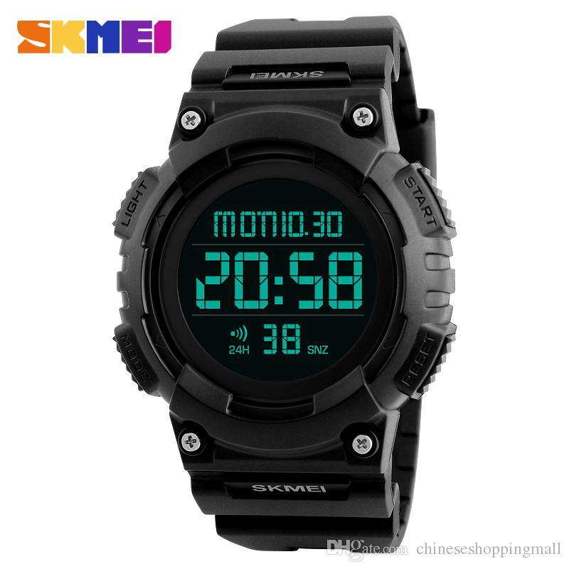 Digitale Uhren Männer Armbanduhren Wasserdicht Luxus Männer Analog Digital Military Armee Sport Led Armbanduhr Reloj Hombre Silicona Marcas Herrenuhren