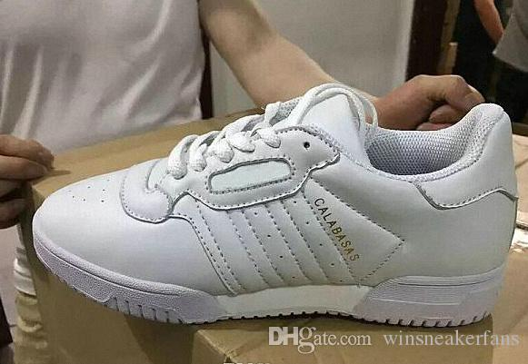 cheapest price cheap online (With Box) 2018 Hot New Arrival Men Women Kanye West Calabasas Powerphase Classic Triple Black White Casual Shoes Sneakers Athletics Shoes sale footaction cheap sale new styles free shipping best rjMMZbXHG