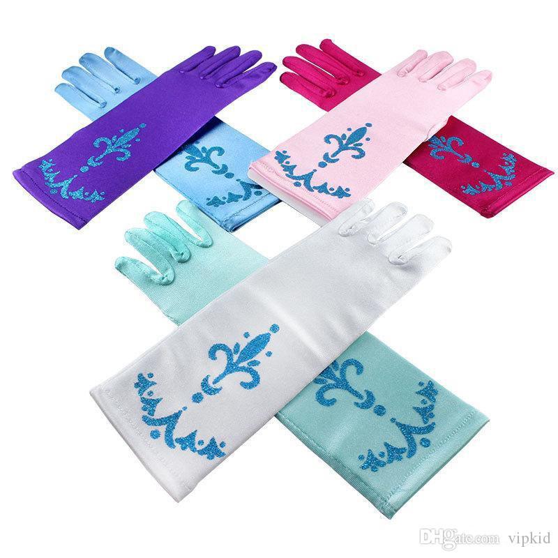 Fashion gloves DHL Girls Long Gloves NEW children Princess Girls Ladies Fancy Gloves V 001