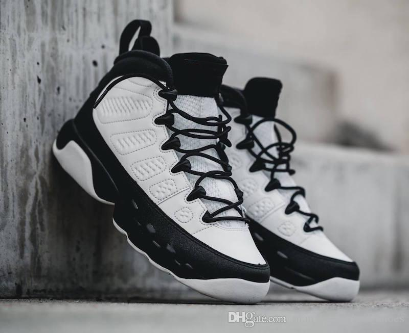de3e21d8436 Wholesale 9 9s Space Jam White Black Red Mens Basketball Shoes OG ...