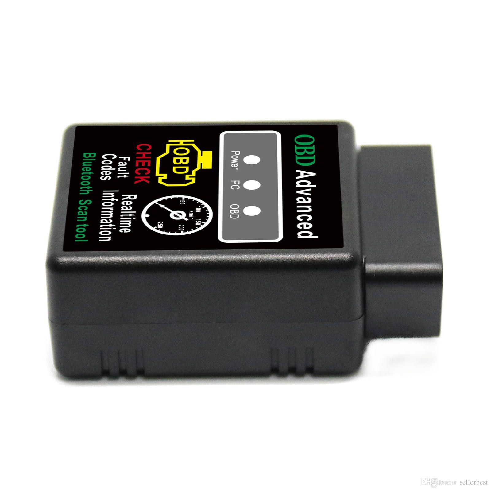 VGATE Scan Качество инструмента A + V1.5 Версия 1.5 Super OBD Scan Mini ELM327 Bluetooth ELM 327 OBDII OBD2 Auto Diagnostic Intercace
