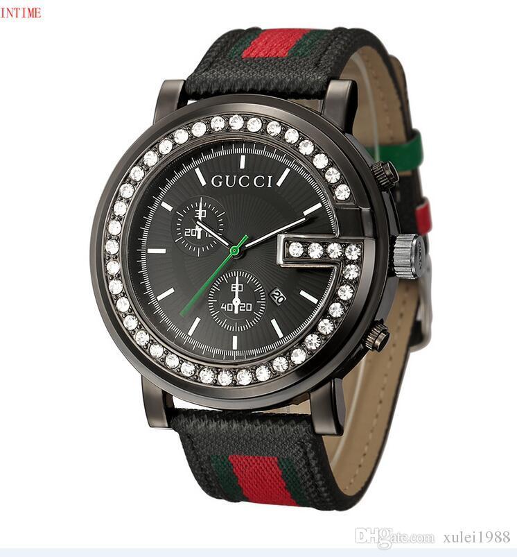2e6690cf3b6 Compre 2018 Clássico Modelo Homem Militar Relógio De Aço Inoxidável Luxo  Casual Popular Relógio De Pulso Relógios De Quartzo Relógio Masculino Marca  Relógio ...